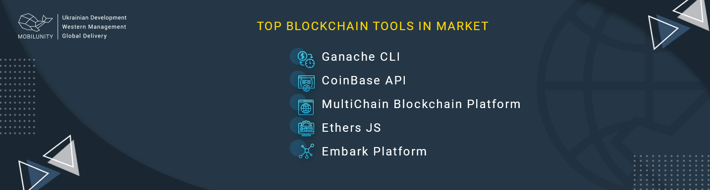 top blockchain software development tools