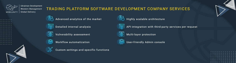 trading software development company needed