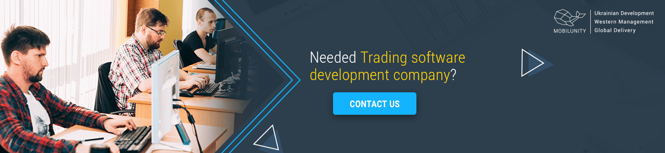trading software development company needed