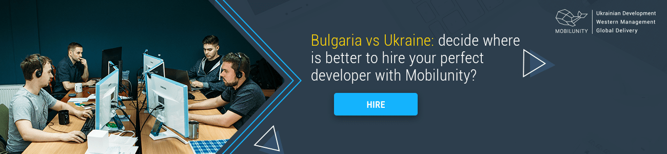 hire ukrainian or bulgarian developers