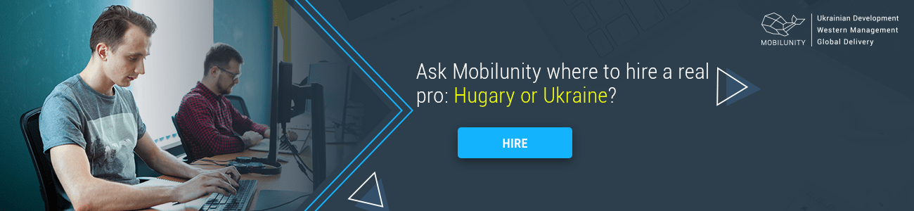 looking for software companies in hungary or ukraine