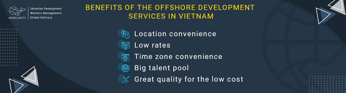benefits of offshore software development services in vietnam