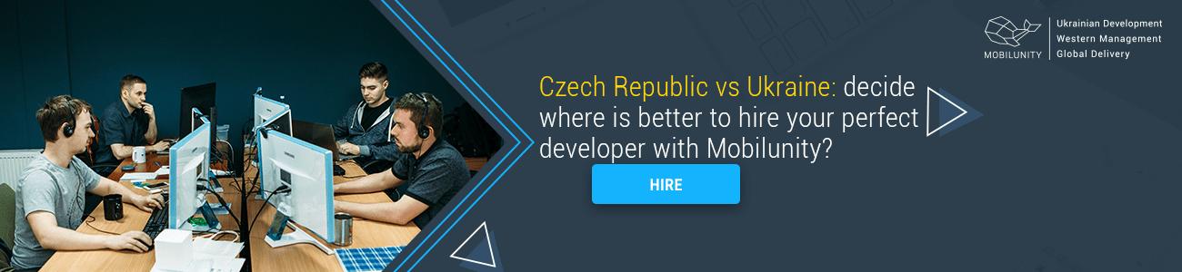 ukrainian vs czech development agency