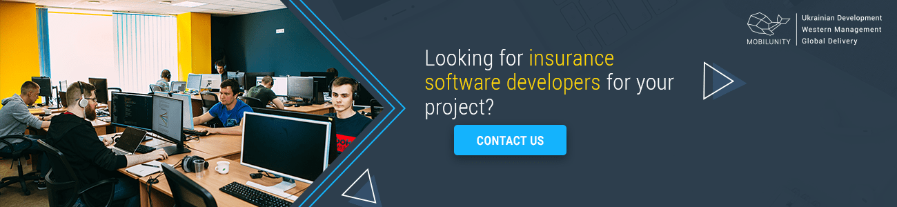 hire insurance software developers