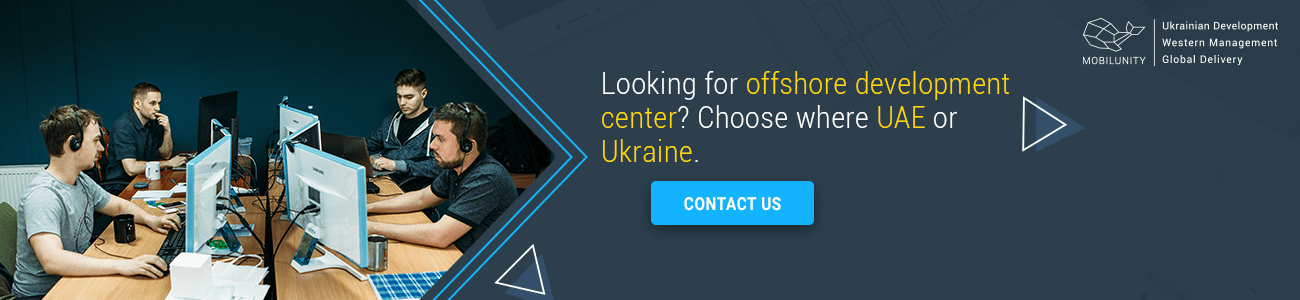 looking for offshore software development company in uae or ukraine
