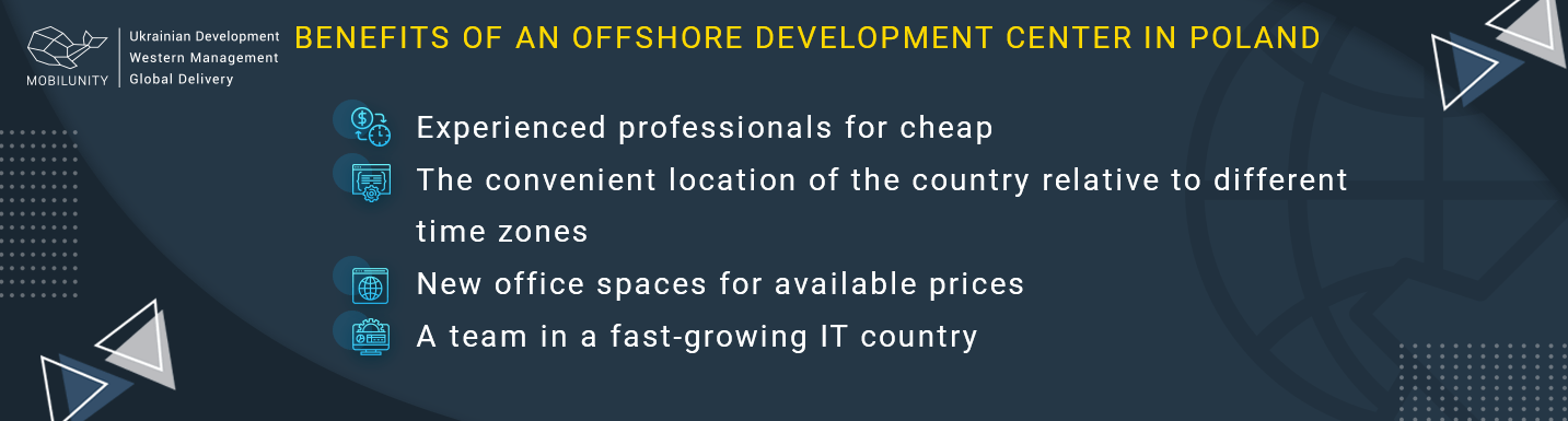 offshore development services in poland benefits