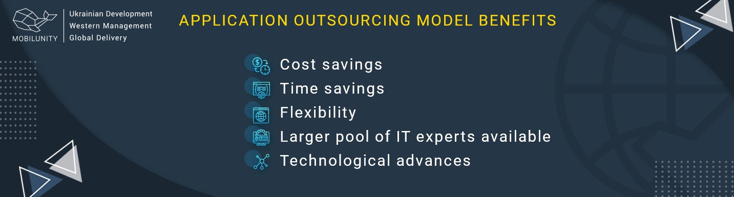 application outsourcing model benefits