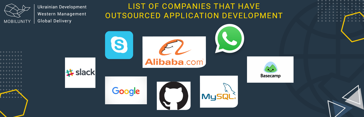companies that have outsourced application development
