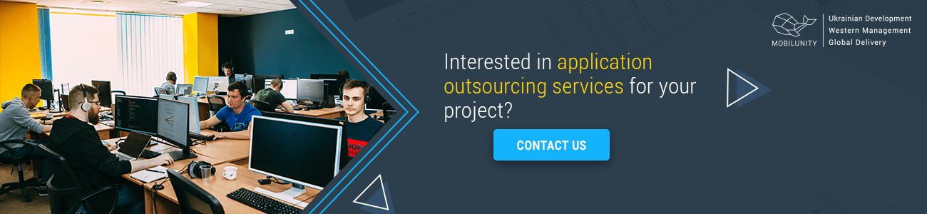 looking for an application development outsourcing services