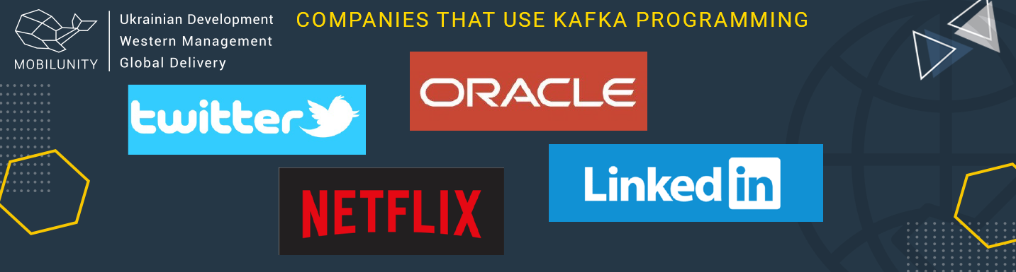 companies that use kafka programming