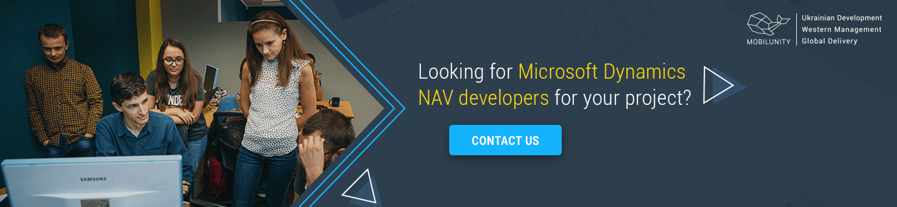 need a developer for microsoft dynamics nav customization