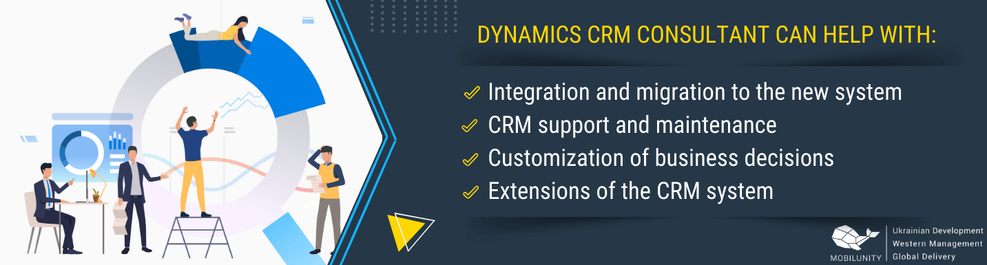 with what dynamics crm consultant can deal