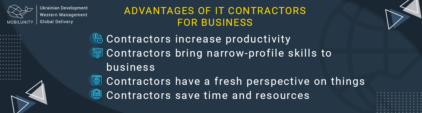 advantages of hiring it contractors