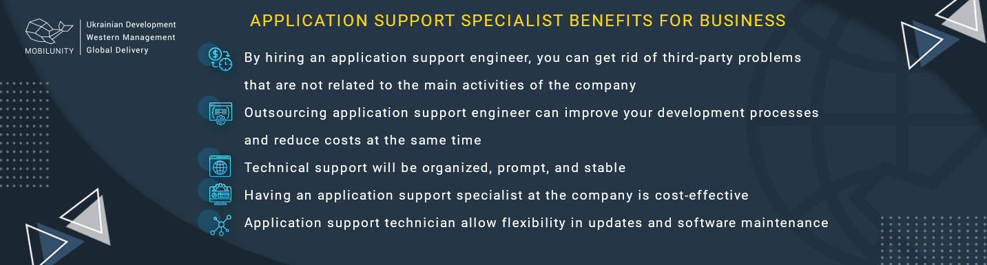 benefits of hiring application support technician