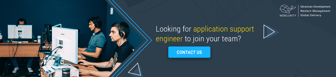 hire application support engineer