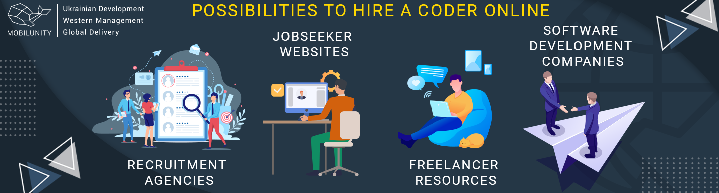 possibilities to hire a coder online