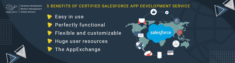 5 benefits of top salesforce app development service