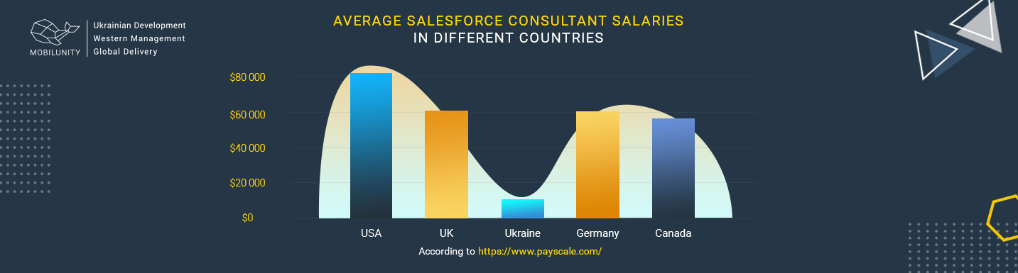 annual Salesforce programmer rates