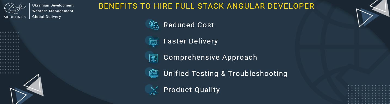 benefits of hiring angular full stack developer