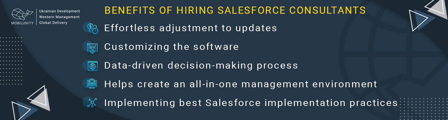 benefits of hiring salesforce consultants