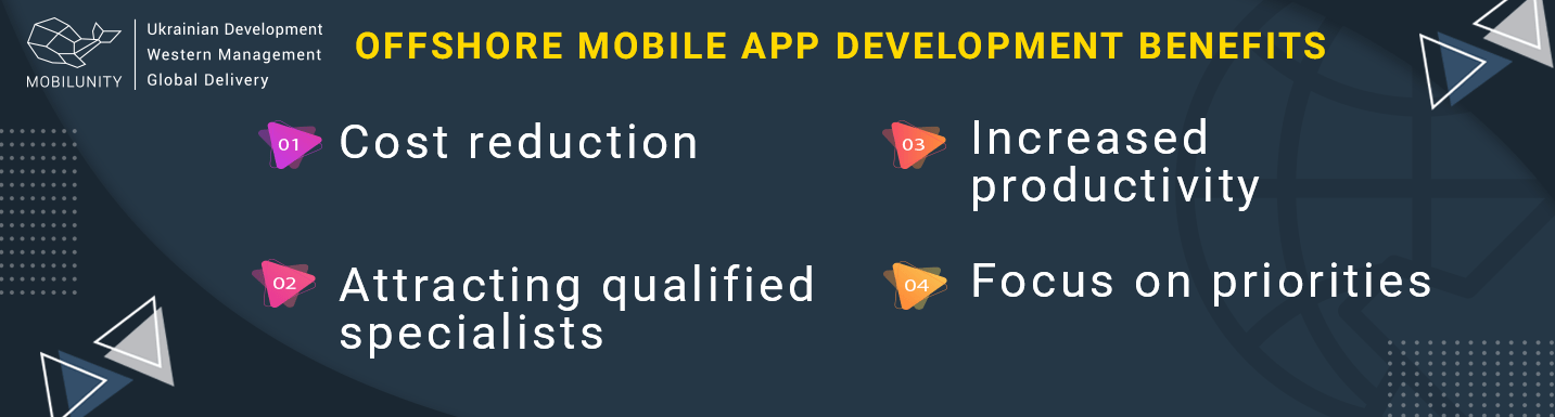 benefits of offshore mobile app development services