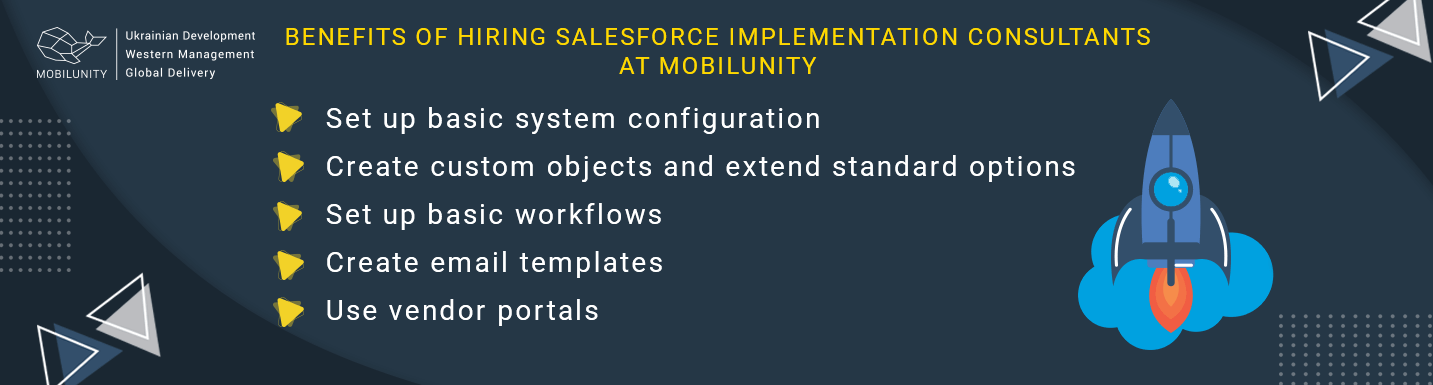 benefits of sfdc implementation at Mobilunity