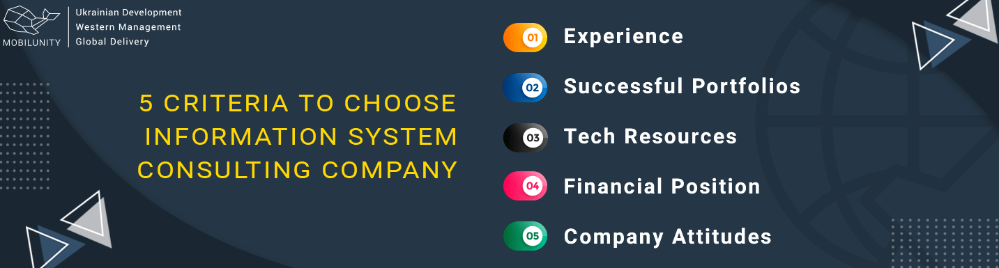 criteria to choose it business consulting company
