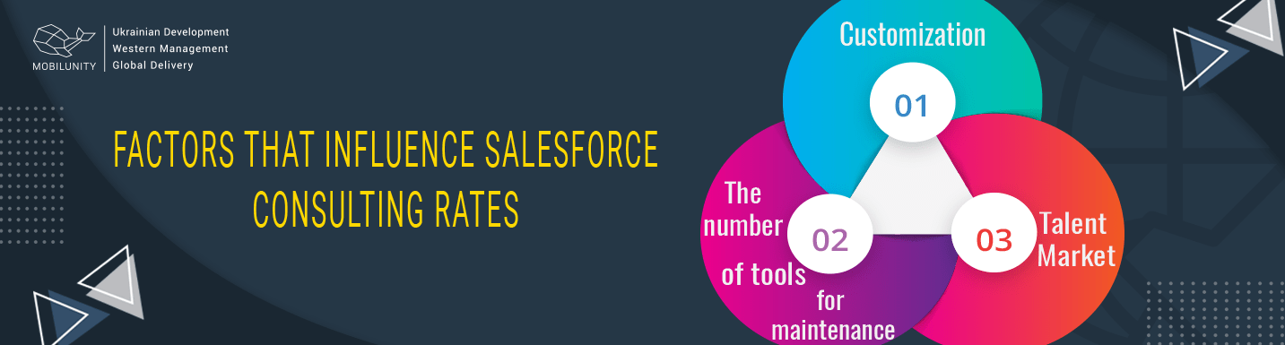 factors that influence salesforce consultant rates