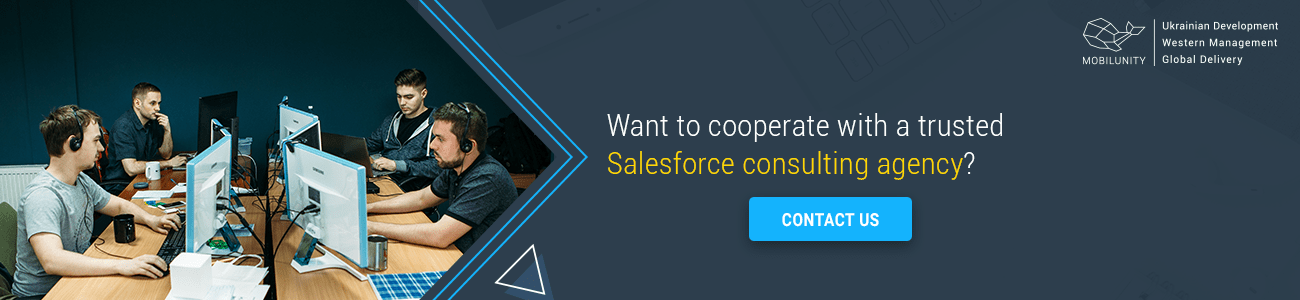 find salesforce consulting agency