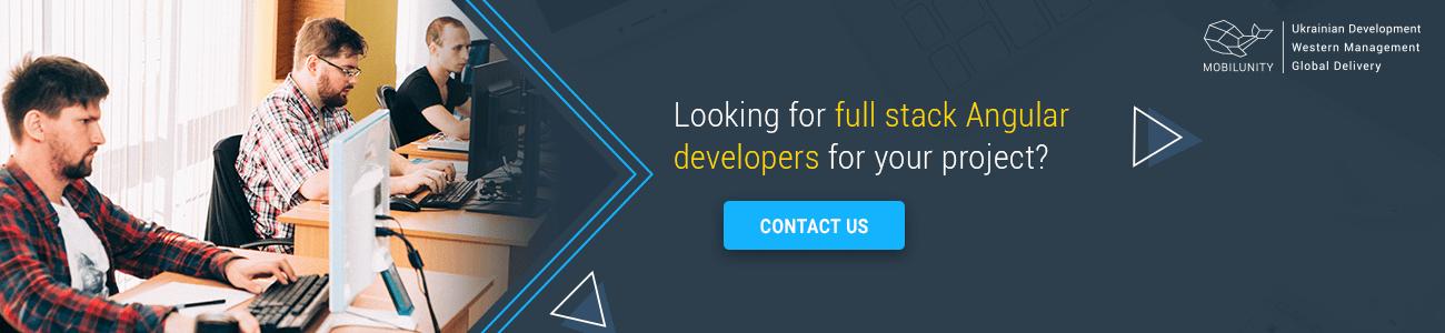 hire full stack angular developer