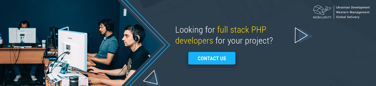 hire full stack php web developer