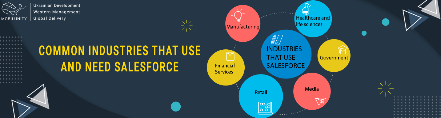 industries that using salesforce consulting services