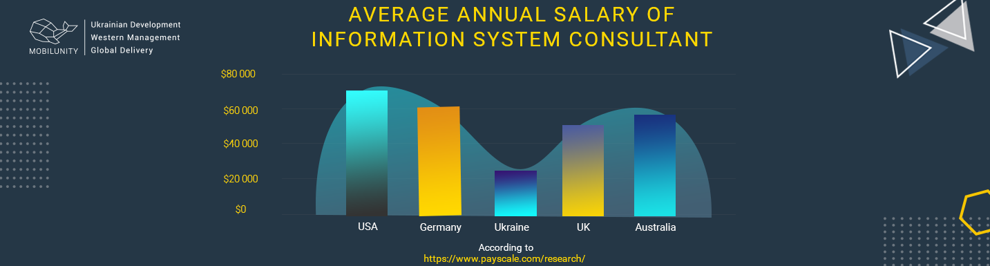 information system consultants salary comparison