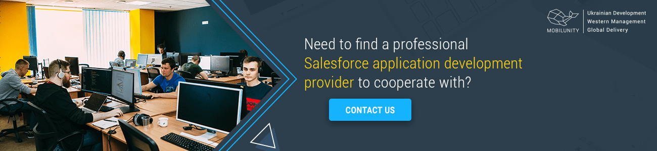 looking for salesforce app development services