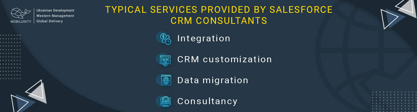 services salesforce software consultants provide