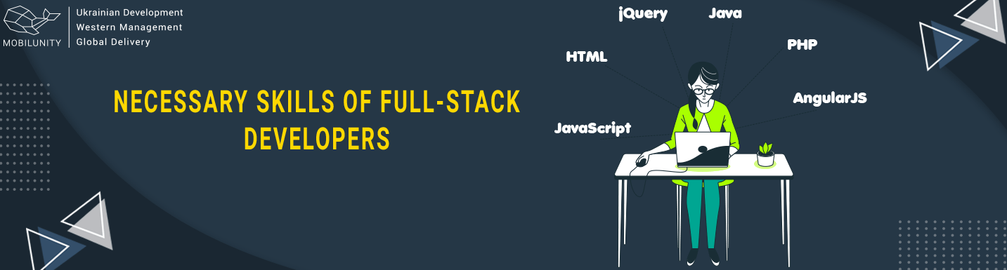 skills of full stack developer