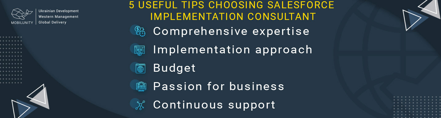 tips to pay attention choosing salesforce implementation consultant