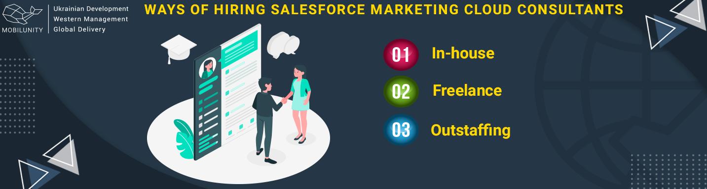 ways of hiring salesforce certified marketing cloud consultant