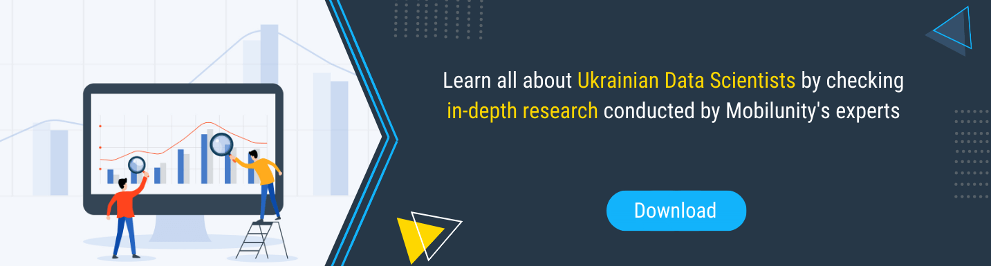 data scientist outsourcing Ukraine Mobilunity experts' research