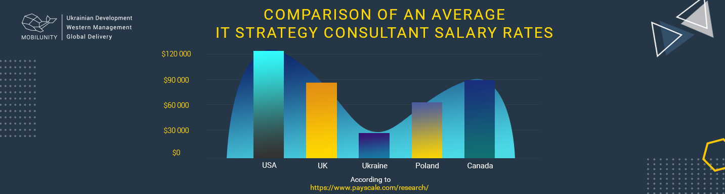 information management consultant salary rates worldwide