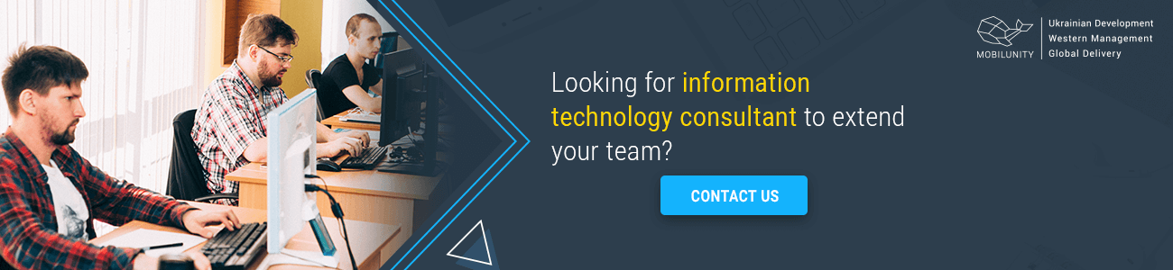 looking for an information technology consulting company