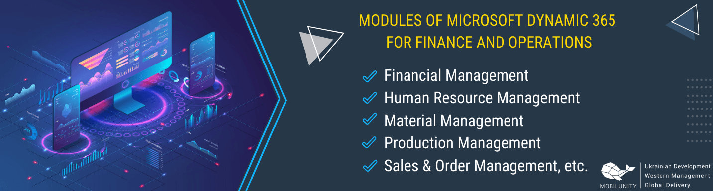 microsoft dynamics 365 for finance and operations modules
