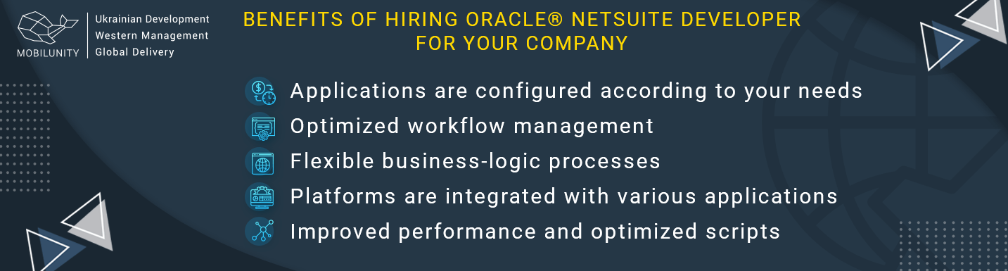 Oracle® NetSuite consulting services benefits