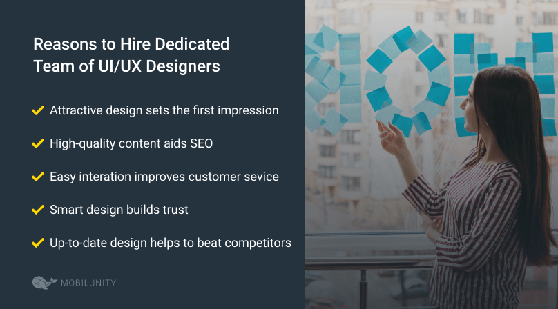 reasons to hire dedicated web designers