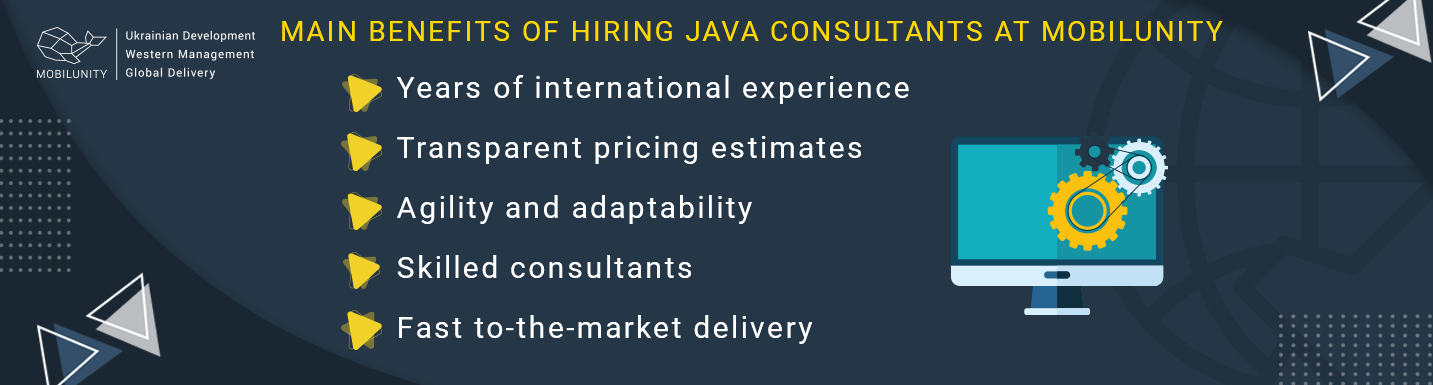 why choose java consultancy services at Mobilunity