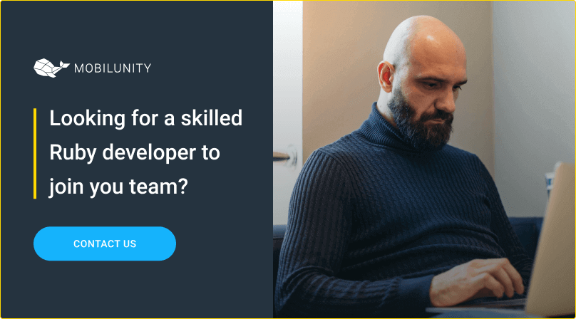 hire ruby developers at mobilunity