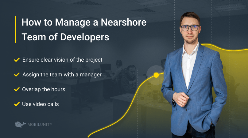 how to manage an IT nearshore team