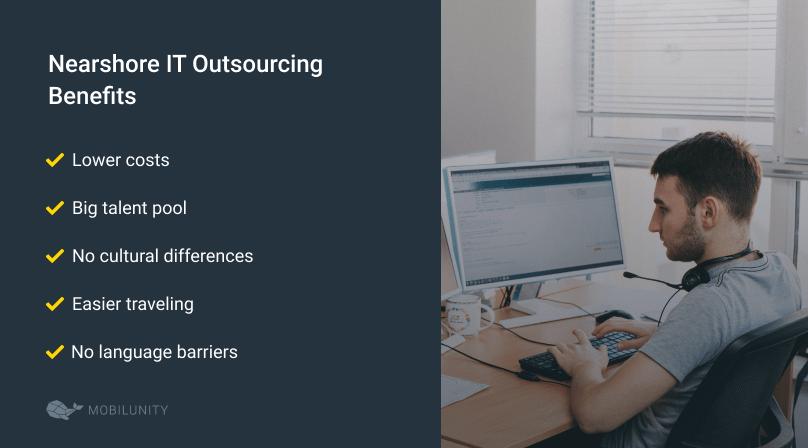nearshore it outsourcing advantages
