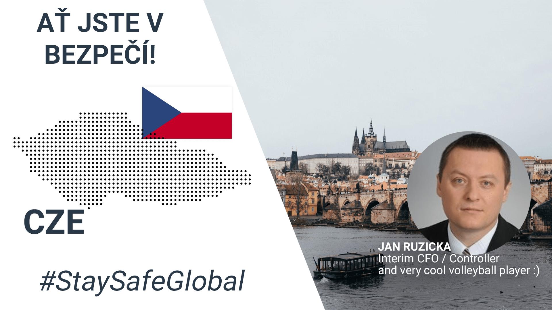 Stay safe in Czech