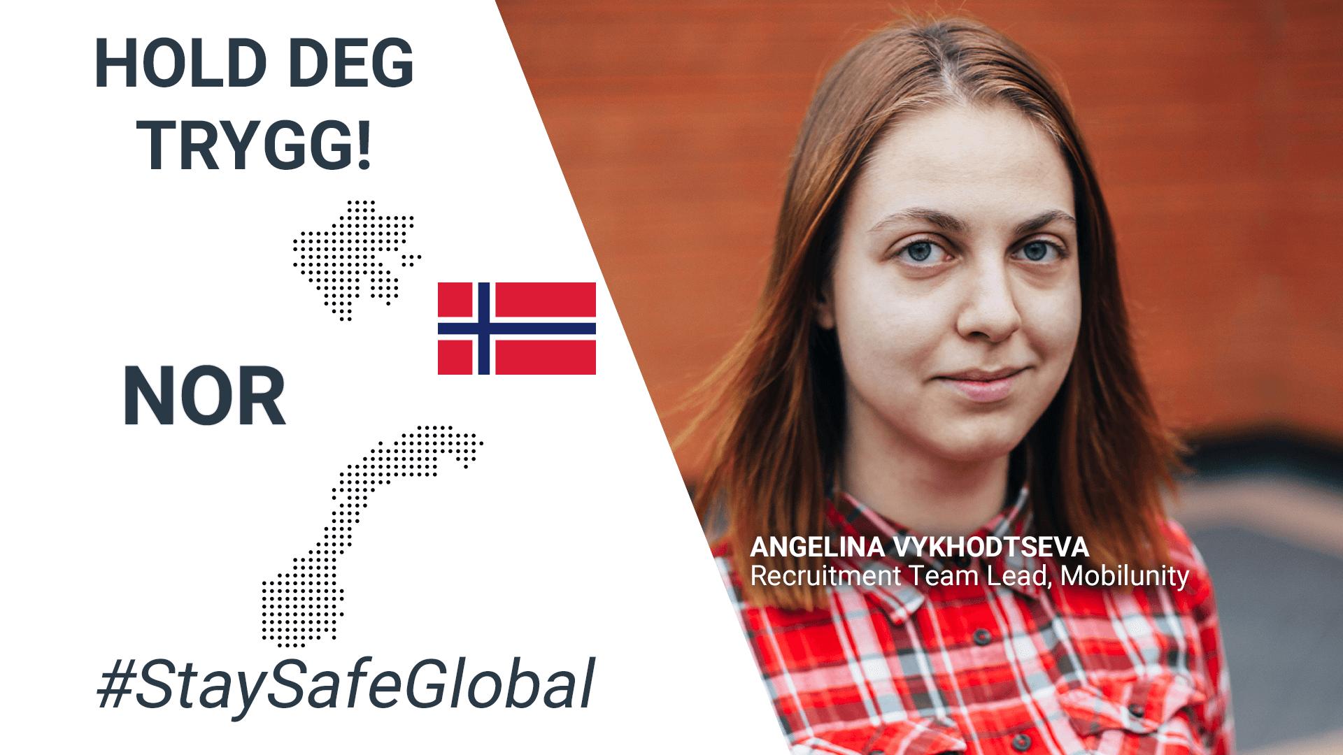 Stay safe in Norwegian